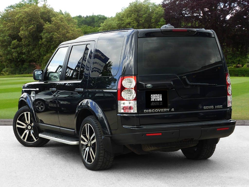 Used Black Land Rover Discovery For Sale Essex