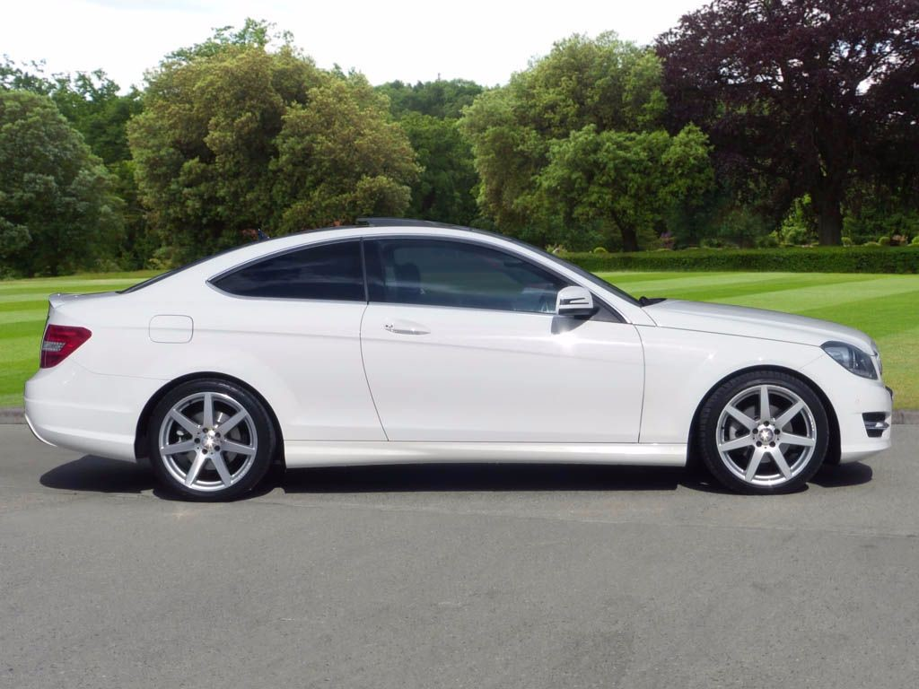 Used Polar White Mercedes C250 For Sale Essex