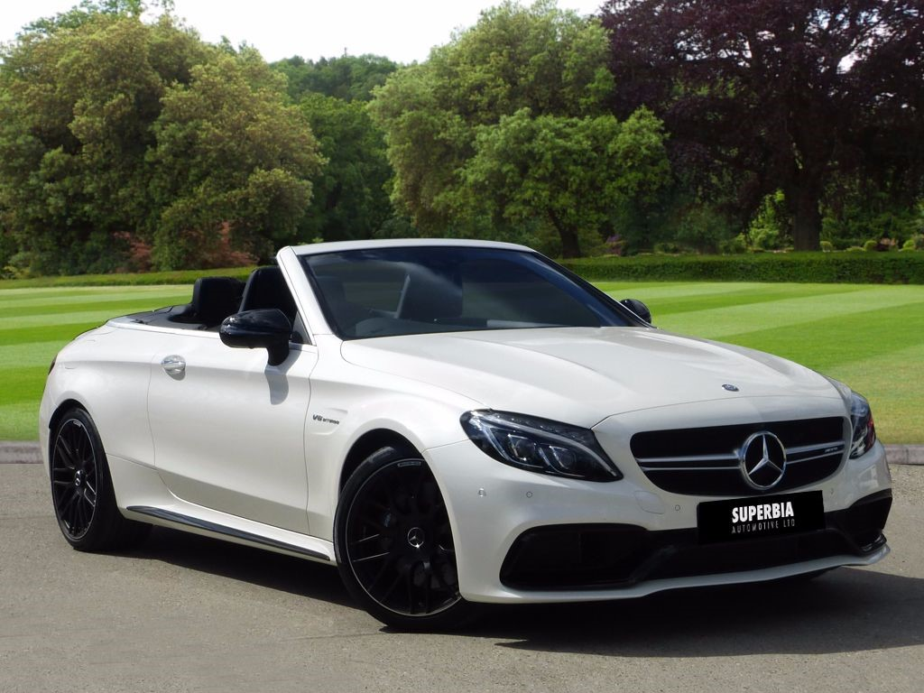 used diamond white mercedes c63 amg for sale essex. Black Bedroom Furniture Sets. Home Design Ideas