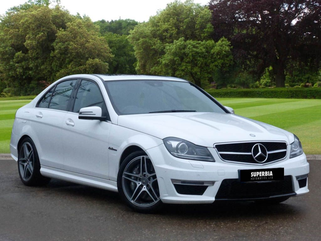 used white mercedes c63 amg for sale essex. Black Bedroom Furniture Sets. Home Design Ideas