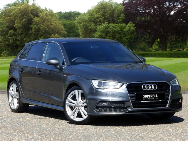 used Audi A3 TFSI S LINE in Chelmsford-essex