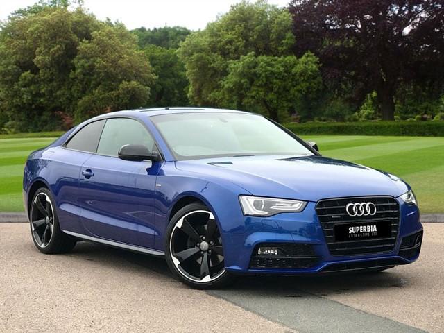 used Audi A5 TDI QUATTRO S LINE BLACK EDITION PLUS in Chelmsford-essex