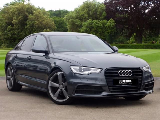 used Audi A6 TDI ULTRA S LINE BLACK EDITION in romford-essex