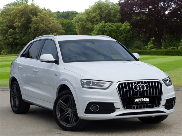 used Audi Q3 TDI QUATTRO S LINE PLUS in romford-essex