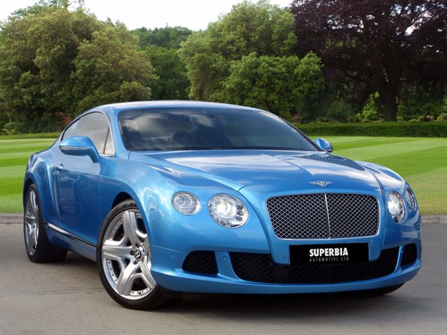 used Bentley Continental GT MDS in romford-essex