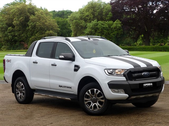 used Ford Ranger WILDTRAK 4X4 DCB TDCI in Chelmsford-essex