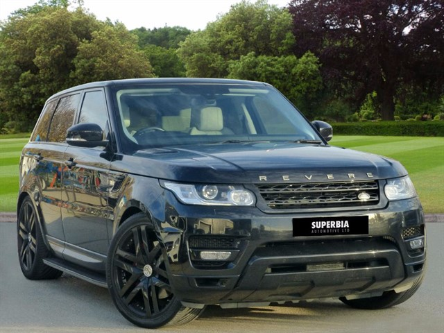 used Land Rover Range Rover Sport SDV6 HSE in romford-essex