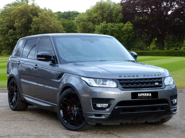 used Land Rover Range Rover Sport V8 AUTOBIOGRAPHY DYNAMIC in Chelmsford-essex