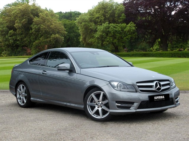 used Mercedes C220 CDI AMG SPORT EDITION PREMIUM in Chelmsford-essex