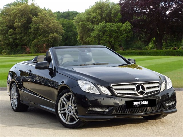 used Mercedes E220 CDI BLUEEFFICIENCY SPORT in romford-essex