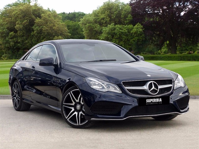 used Mercedes E220 BLUETEC AMG LINE SPORTS PLUS in romford-essex