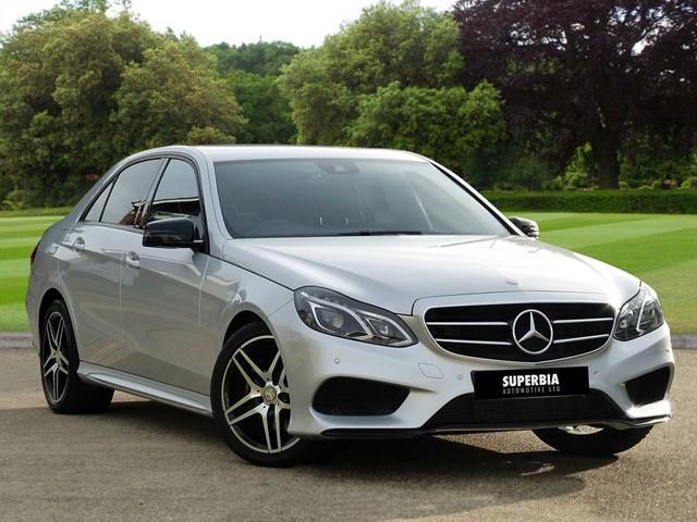 used Mercedes E220 BLUETEC AMG NIGHT EDITION in romford-essex