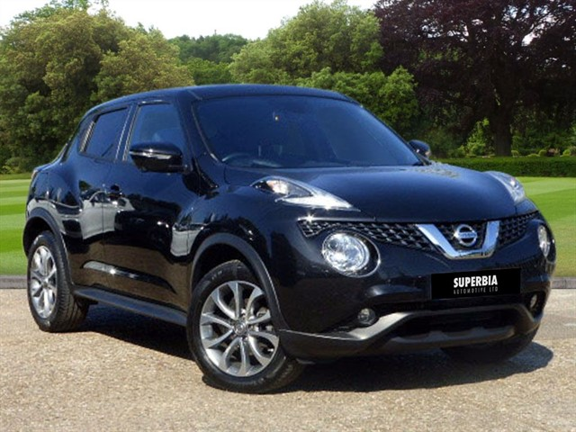 used Nissan Juke TEKNA DCI in Chelmsford-essex
