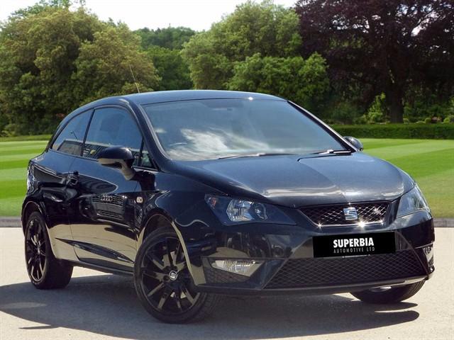 used SEAT Ibiza TSI ACT FR BLACK in romford-essex
