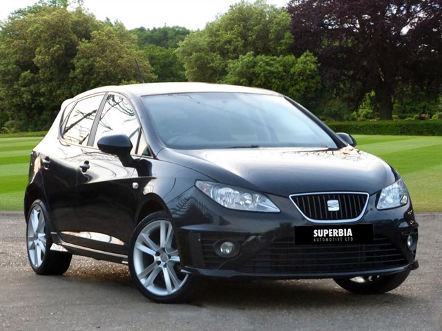 used SEAT Ibiza BLACK SPORT in Chelmsford-essex