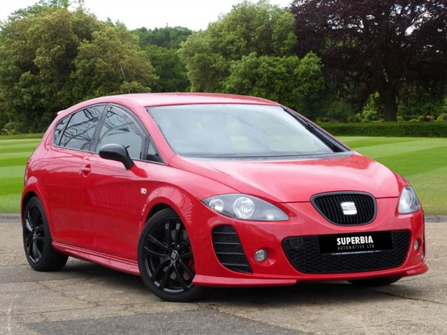 used SEAT Leon CUPRA K1 TSI in Chelmsford-essex