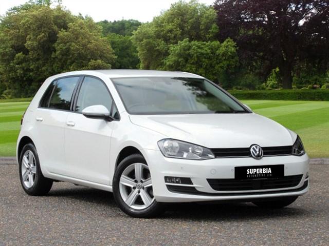 used VW Golf MATCH TDI BLUEMOTION TECHNOLOGY DSG in Chelmsford-essex