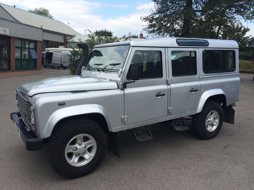used land rover defender 110 td county station wagon for sale in gloucestershire. Black Bedroom Furniture Sets. Home Design Ideas