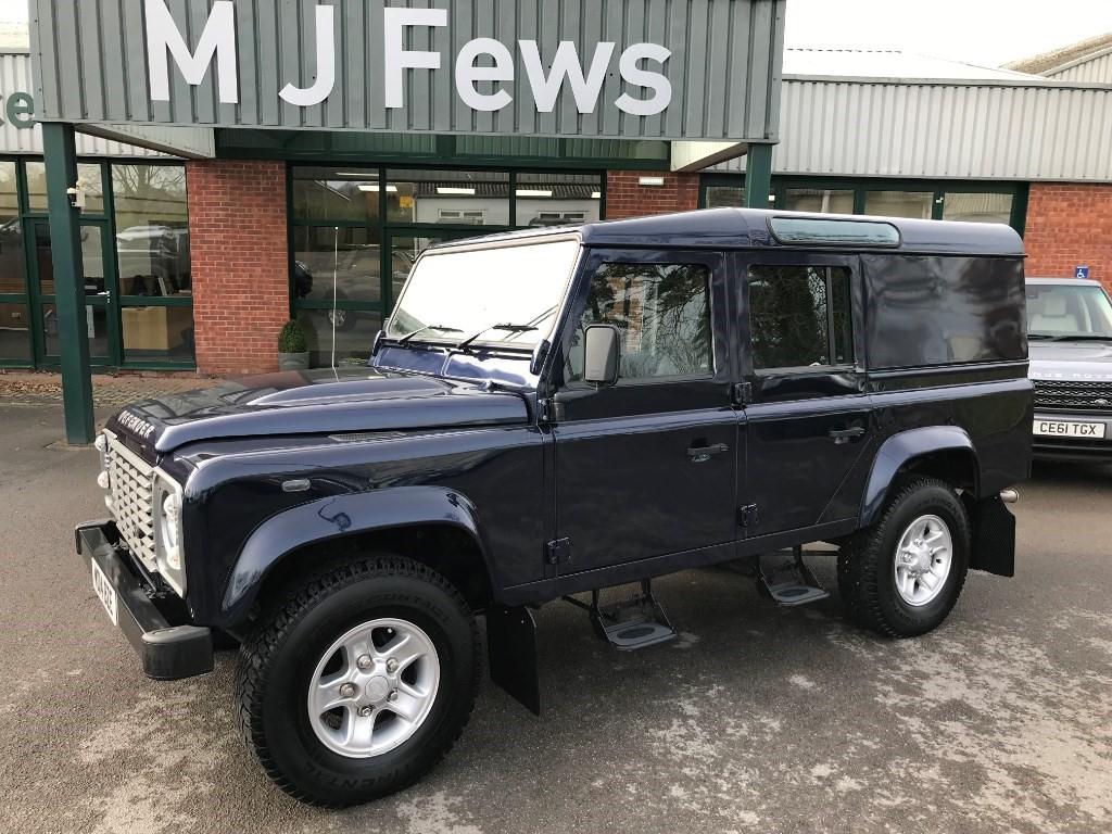 Defender 110 For Sale >> Used Blue Land Rover Defender For Sale Gloucestershire