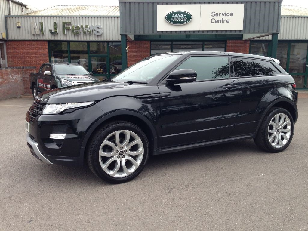 used land rover range rover evoque sd4 dynamic for sale in gloucestershire. Black Bedroom Furniture Sets. Home Design Ideas