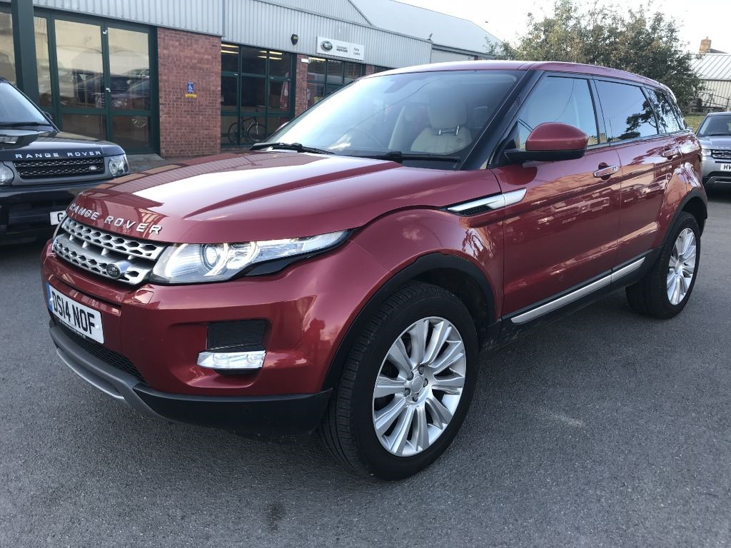 used red land rover range rover evoque for sale gloucestershire. Black Bedroom Furniture Sets. Home Design Ideas