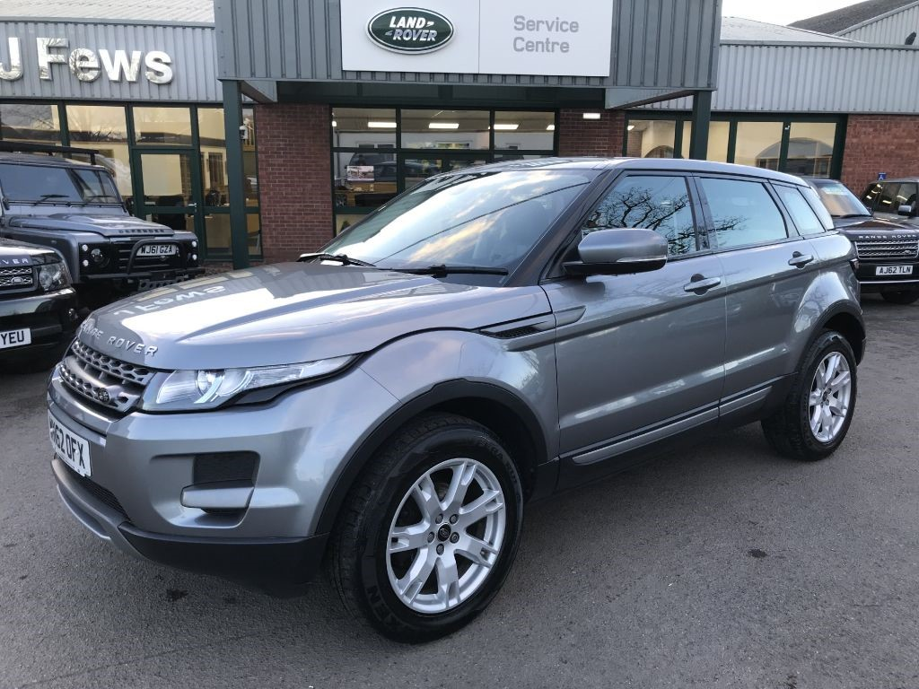 used grey land rover range rover evoque for sale gloucestershire. Black Bedroom Furniture Sets. Home Design Ideas