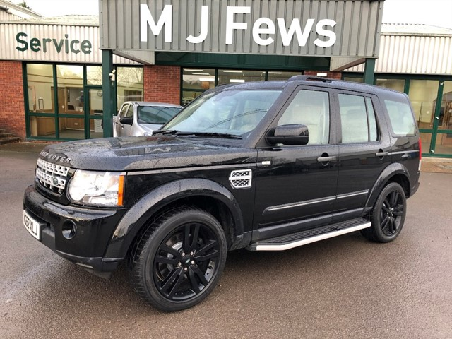 used Land Rover Discovery SDV6 HSE LUXURY in gloucestershire