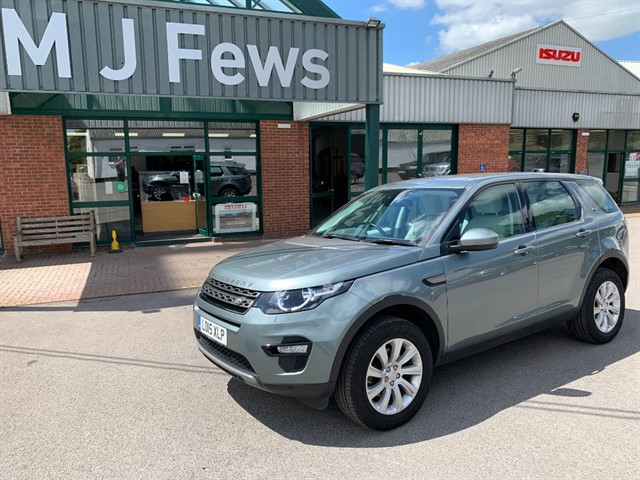 used Land Rover Discovery Sport SD4 SE TECH in gloucestershire