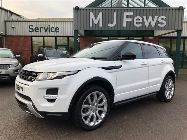 used Land Rover Range Rover Evoque SD4 DYNAMIC LUX in gloucestershire