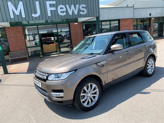 used Land Rover Range Rover Sport Range Rover Sport HSE in gloucestershire