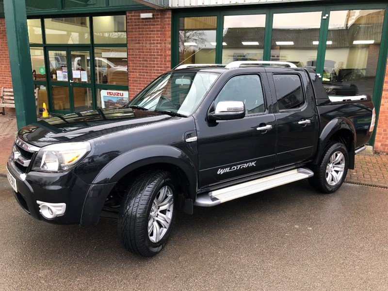 used Ford Ranger WILDTRAK 4X4 DCB TDCI in gloucestershire