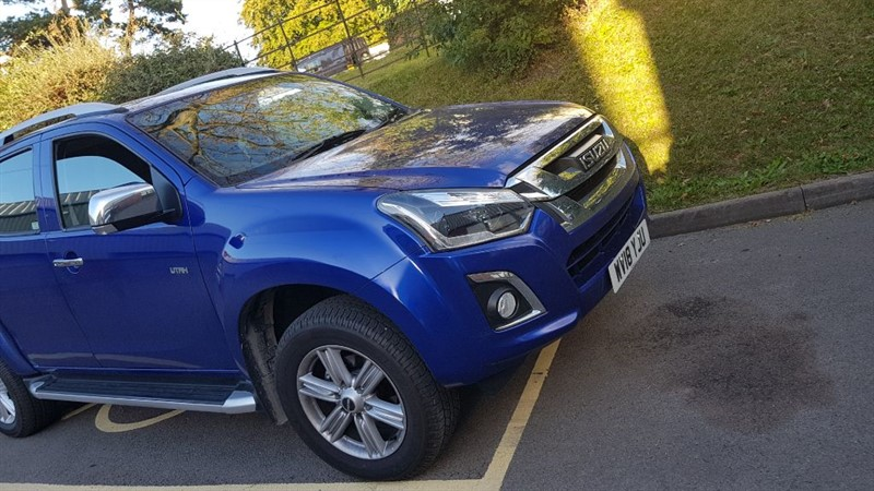 used Isuzu D-Max UTAH DCB in gloucestershire