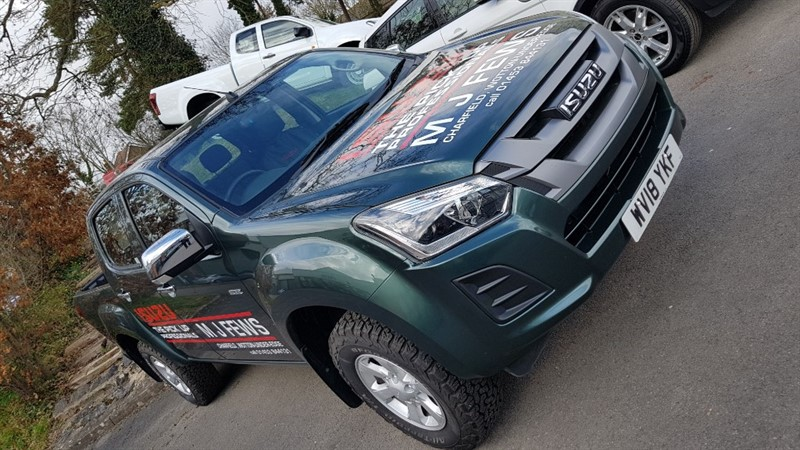 used Isuzu D-Max D-MAX EIGER AUTO PICK UP WORK PACK in gloucestershire