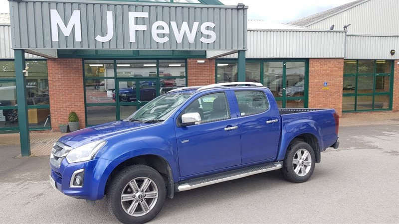 used Isuzu D-Max UTAH DCB PICK UP in gloucestershire
