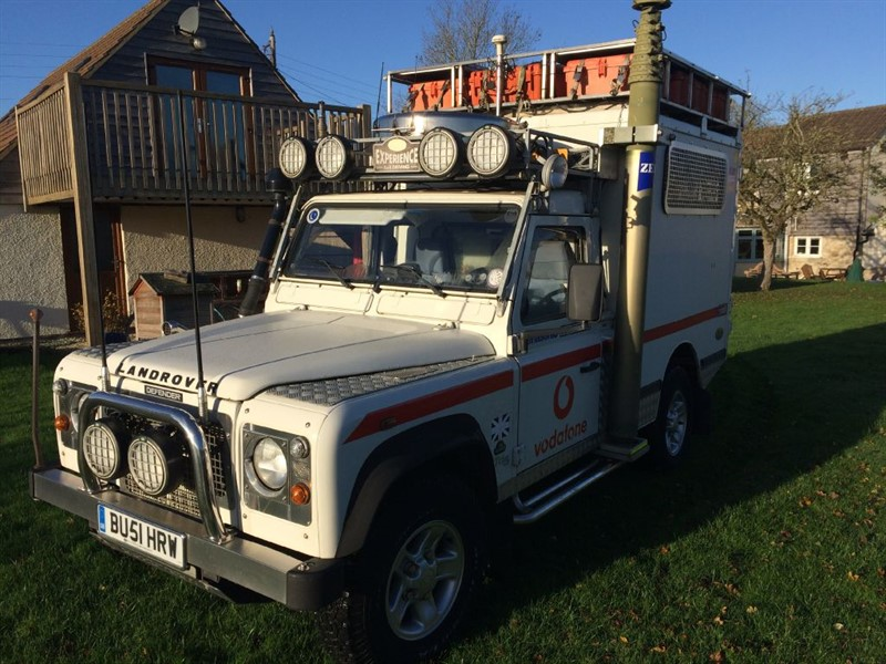 used Land Rover Defender 110 quadtech in gloucestershire