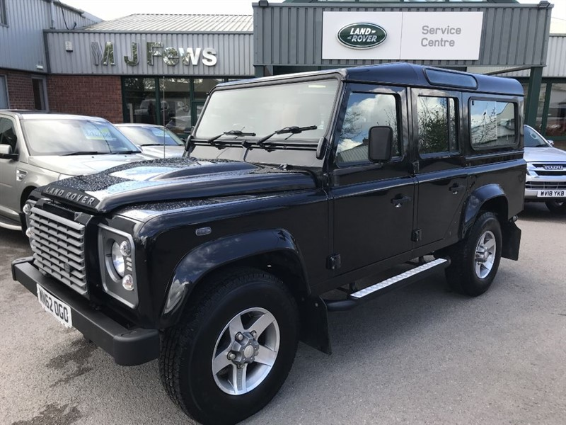 used Land Rover Defender 110 TD XS STATION WAGON in gloucestershire