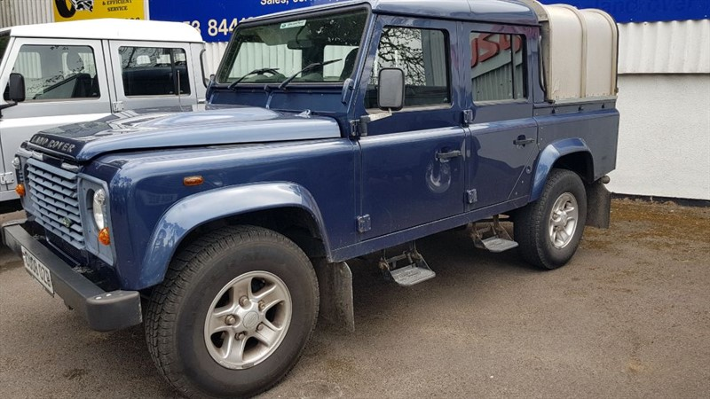 used Land Rover Defender 110 COUNTY DCB in gloucestershire