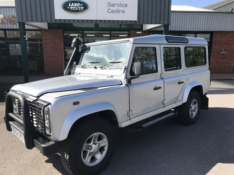used Land Rover Defender 110 TD5 COUNTY STATION WAGON in gloucestershire