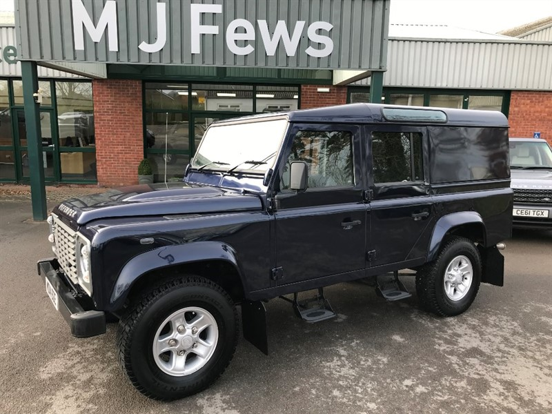 used Land Rover Defender 110 TD COUNTY UTILITY WAGON 4x4 in gloucestershire