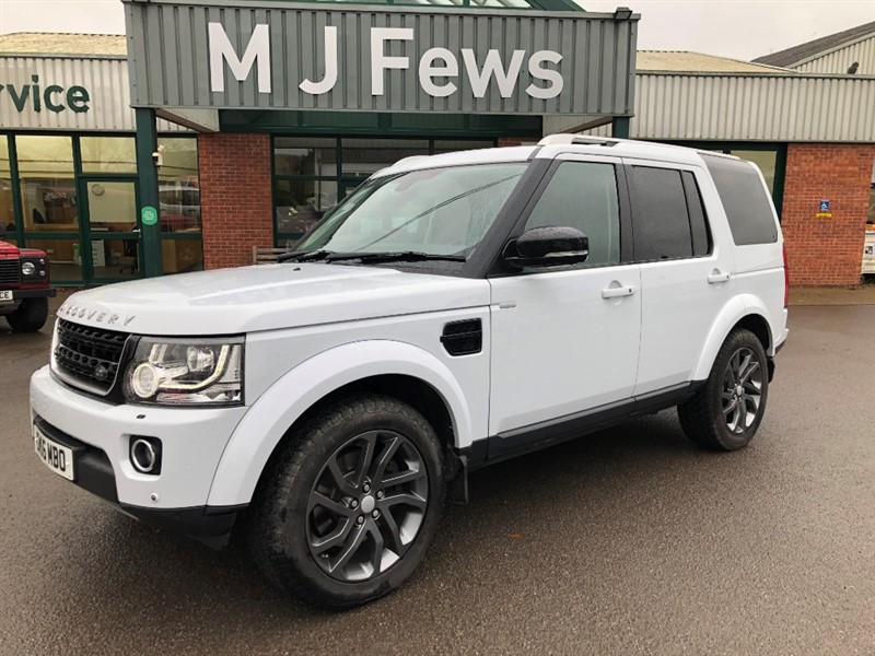used Land Rover Discovery SDV6  Landmark in gloucestershire