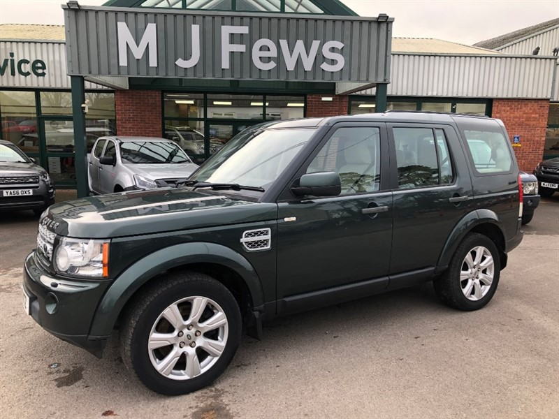 used Land Rover Discovery SDV6 HSE in gloucestershire