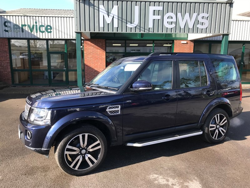 used Land Rover Discovery SDV6 HSE LUXURY 4x4 in gloucestershire