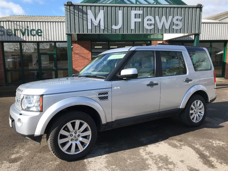 used Land Rover Discovery 4 SDV6 HSE 4x4 in gloucestershire