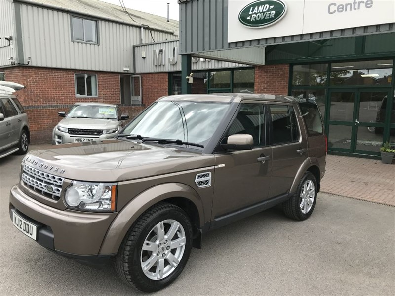 used Land Rover Discovery 4 SDV6 GS in gloucestershire