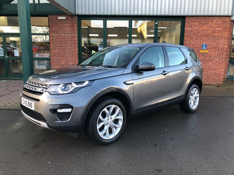 used Land Rover Discovery Sport SD4 HSE in gloucestershire