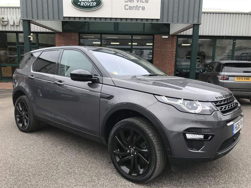 used Land Rover Discovery Sport TD4 HSE LUXURY in gloucestershire