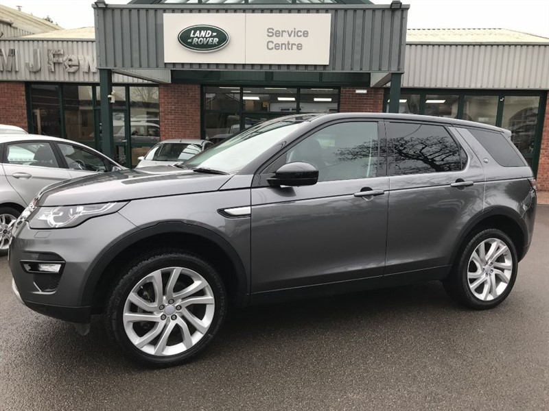 used Land Rover Discovery Sport TD4 HSE in gloucestershire