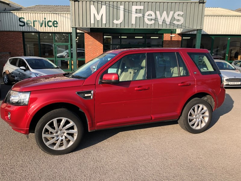 used Land Rover Freelander TD4 SE TECH in gloucestershire