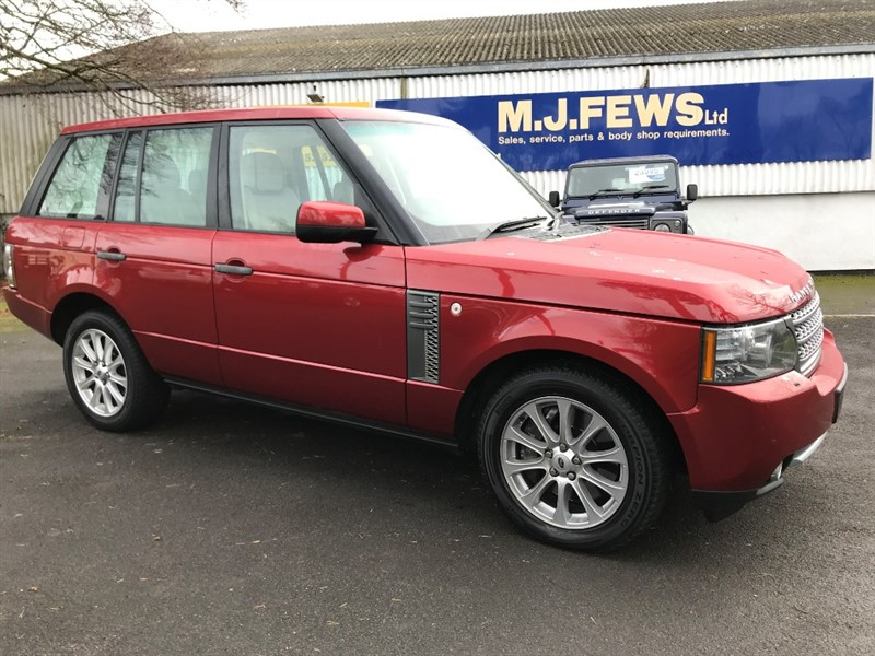 used Land Rover Range Rover TDV8 VOGUE in gloucestershire