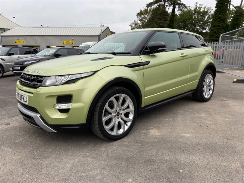 used Land Rover Range Rover Evoque SD4 DYNAMIC in gloucestershire
